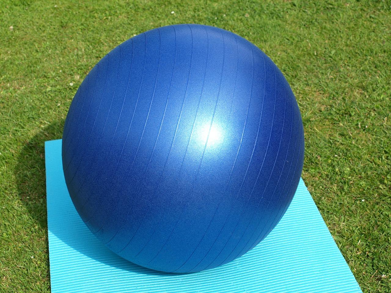 Ćwiczenia z piłką fitball podczas ciąży
